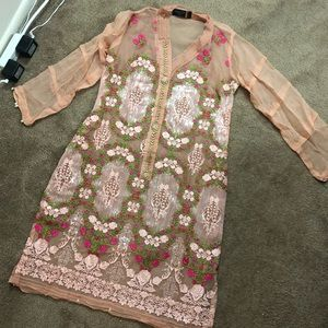 Dresses & Skirts - Pakistani Indian kameez Kurta with slip designer